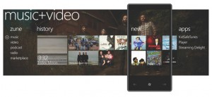 Windows Phone 7 Music and Videos Hub