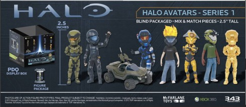 Halo Avatar Figurines