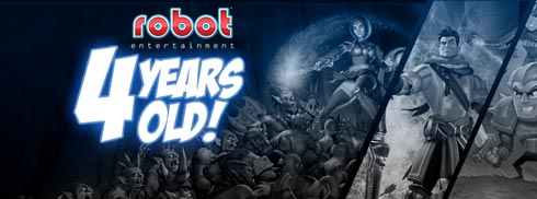 Robot Entertainment Turns 4